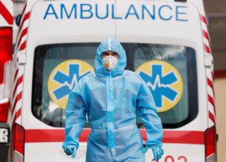 Коронавирус убил более 100 человек в Украине за сутки