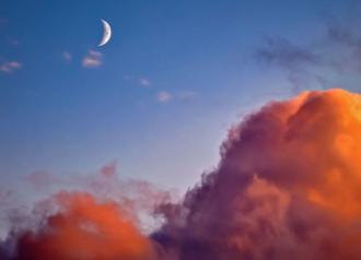 Росс поділився, що січневий молодик настане вранці 13 числа – Молодий Місяць січень 2021