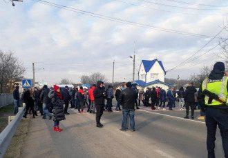 Акциня протеста на Буковине / cv.npu.gov.ua