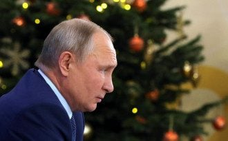 Хрещення 2021 - Путін під час водохресного купання допустив помилку
