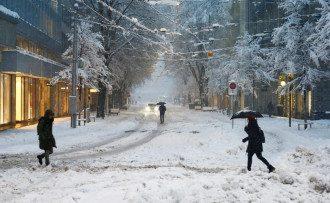 Синоптик Погода подарила Украине шквальный ветер и до 20 см снега