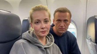 Юлія Навальна та Олексій Навальний