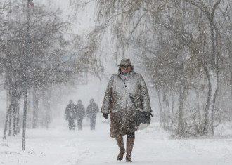 В Украину вернется мороз / Reuters