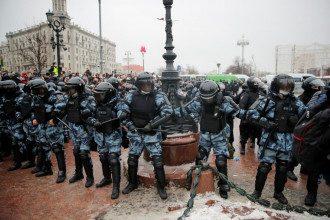 Росссия,силовики,протесты