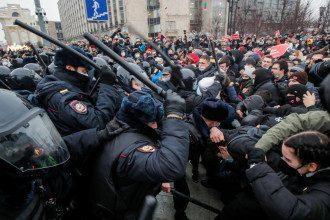 Протесты в России 23 января 2021 года в поддержку Алексея Навального