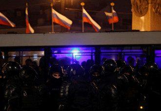 США осудили насилие в России / Reuters