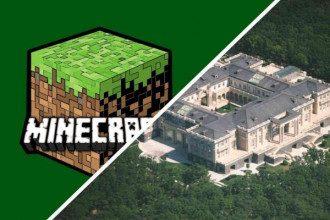 Дворец Путина в Minecraft / Youtube