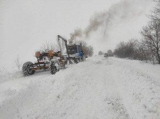 дороги, снег