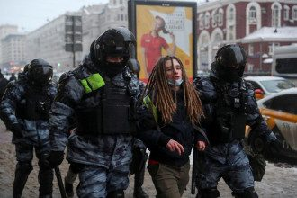 Протесты, Навальный