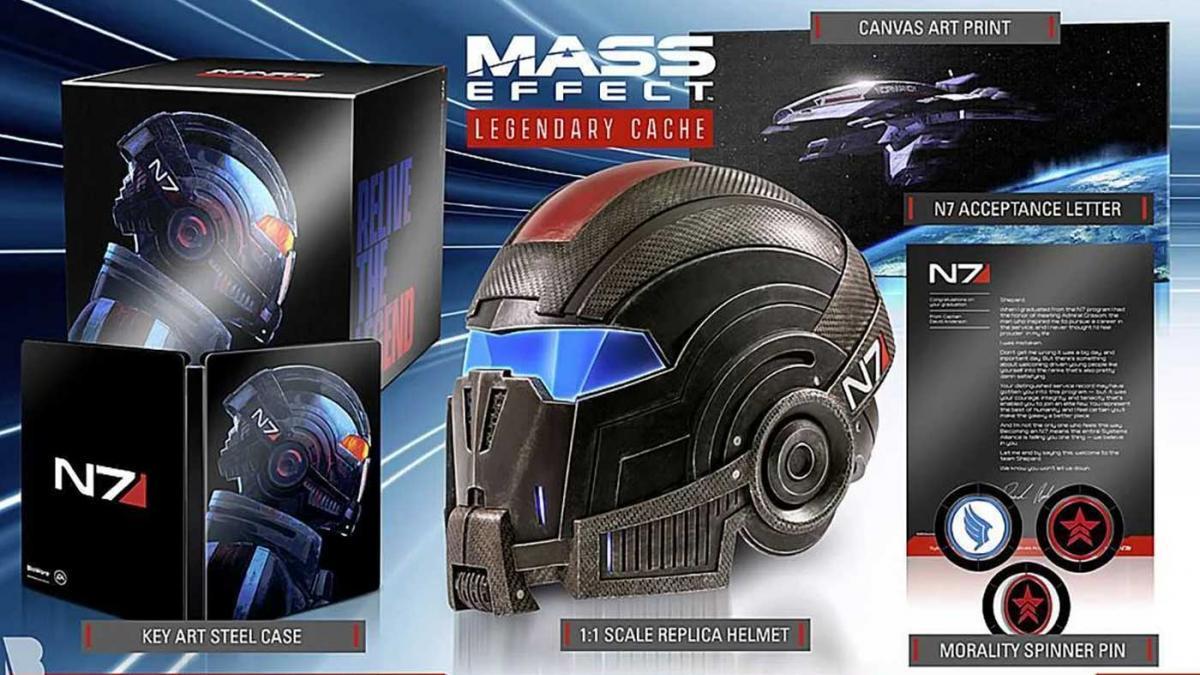 Ремастер трилогии Mass Effect – раскрыты системные требования и коллекционное издание