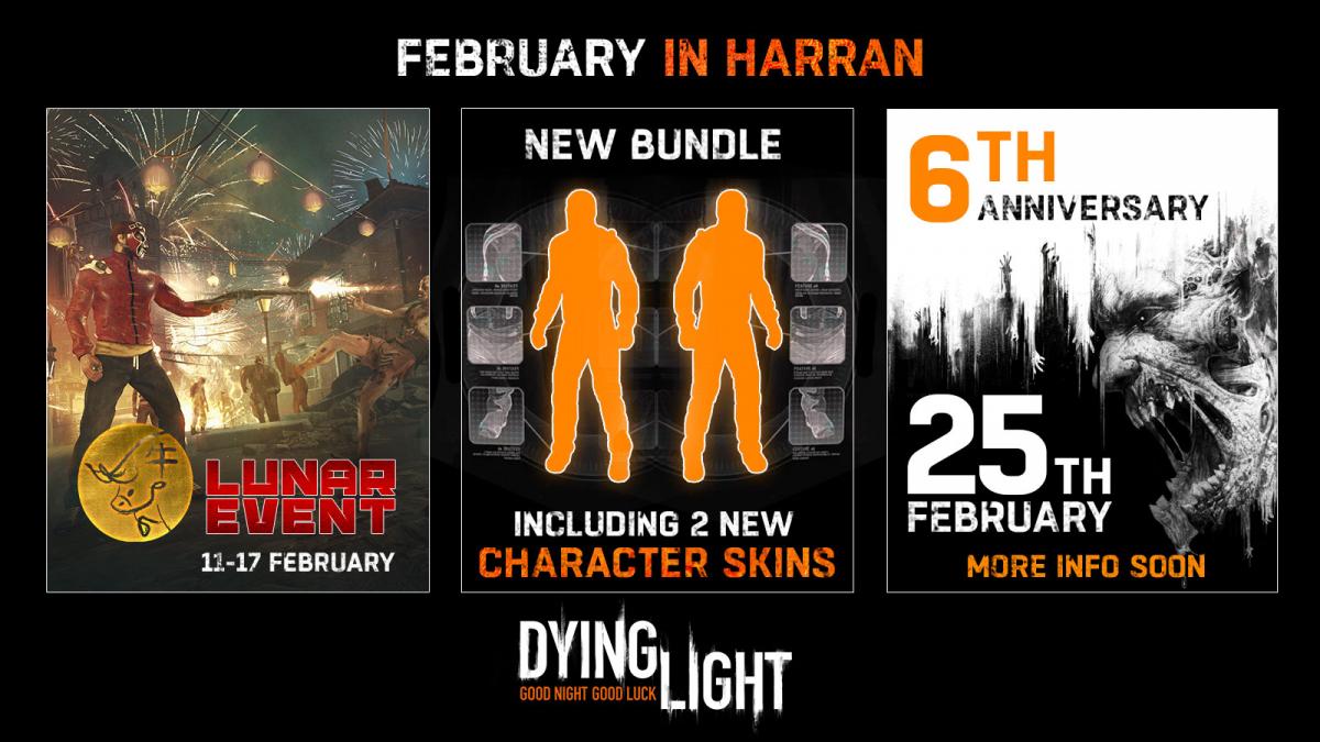 Авторы хитового проекта Dying Light представили план поддержки игры на февраль