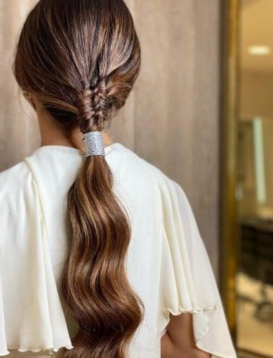 Модна зачіска хвіст 2021 / Instagram