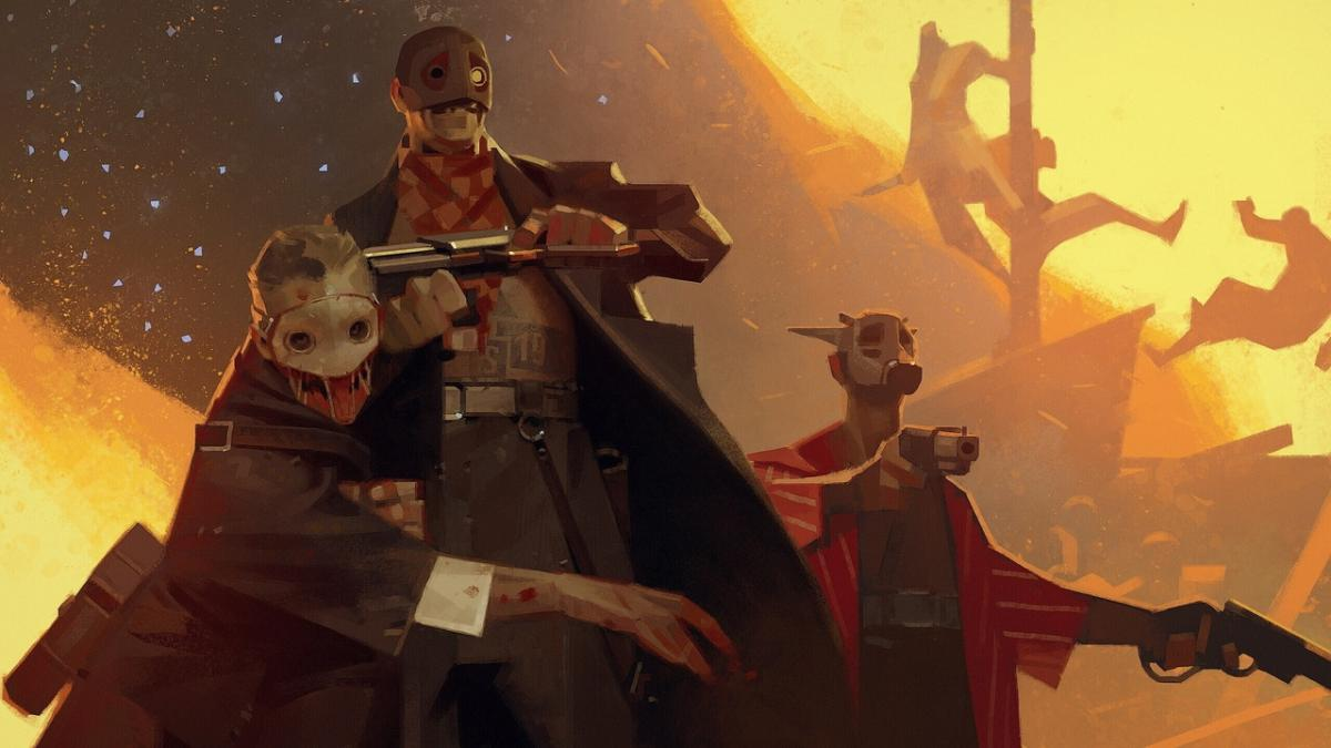 Стильный концепт-арт грядущего шутера Deathloop