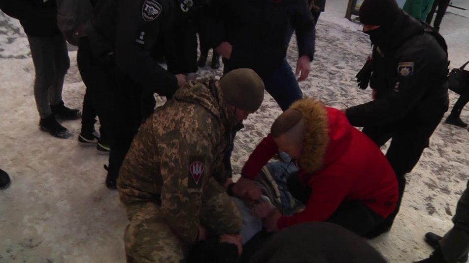 Напад на людей у Житомирі