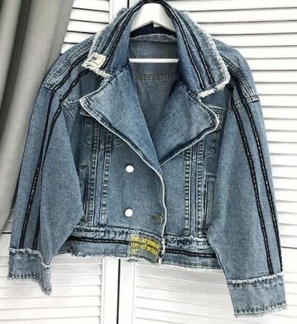 Модные джинсовые куртки 2021