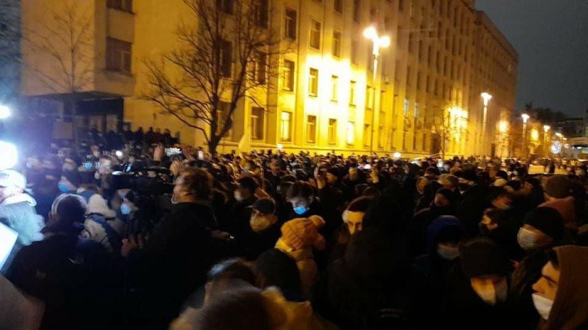 В ходе акции протеста 23 февраля были задержаны 24 человека / Нацполиция