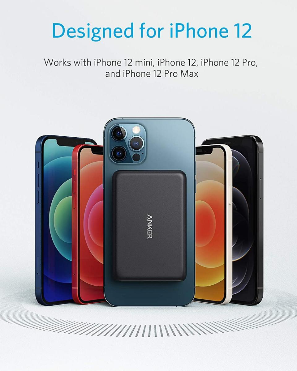 Anker выпустил магнитный пауэрбанк для iPhone 12