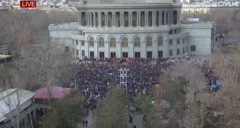 Митинг на Европейской площади