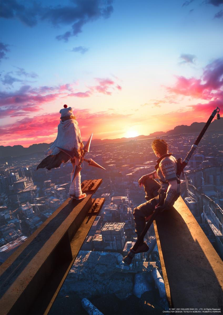 Ключевой арт новой главы Final Fantasy VII Remake Intergrade / Square Enix