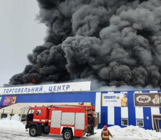 У МВС поділилися, що у підпалі Епіцентру в Первомайську підозрюють 37-річного чоловіка, який був судимий
