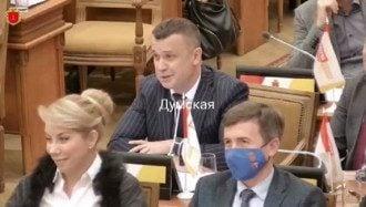 В Одессе депутат на сессии рассказал, как правильно воровать