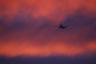 небо, літак