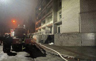 Влада озвучила можливу причину пожежі у лікарні Запоріжжя