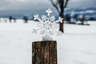 У понеділок на більшій частині території України спрогнозовано сніг