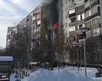 У результаті пожежі в Новій Москві загинули діти