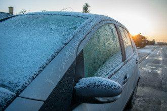 автомобіль, мороз