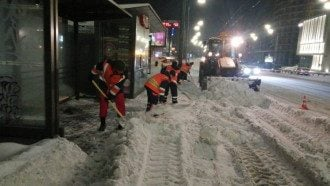 погода, Киев, снег