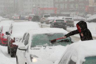 погода, зима, сніг