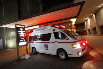 В Японии из-за мощного землетрясения пострадали восемь человек