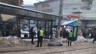 На Лукьяновке нашли труп / Фото kyiv.media
