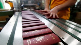 На Донбассе РФ раздает свои паспорта