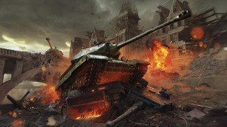 World of Tanks - самая популярная игра в Украине / Wargaming