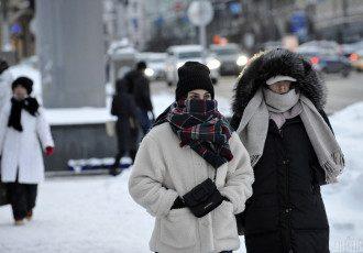 зима, мороз