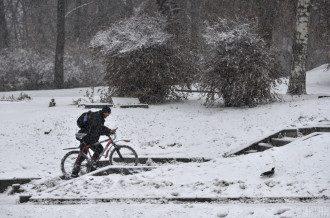 Мокрий сніг спрогнозовано у низці регіонів України