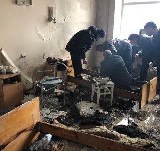 Выяснились подробности пожара в больнице / Facebook.com/policebukovyna