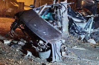 В ДТП в Люблине разбились украинцы / Фото Люблинской полиции