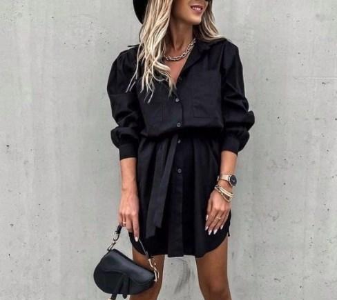 В моде платья-рубашки / Instagram