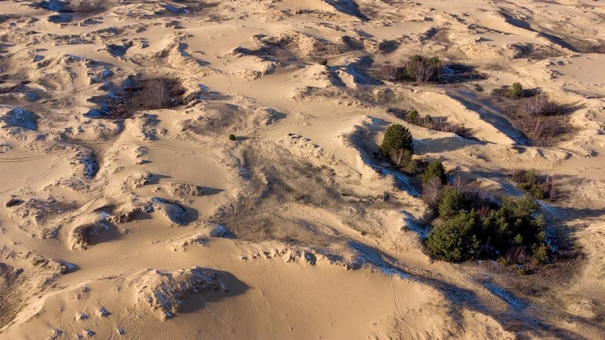 Куди поїхати на вихідні 8 березня в Україні-Олешківська пустеля