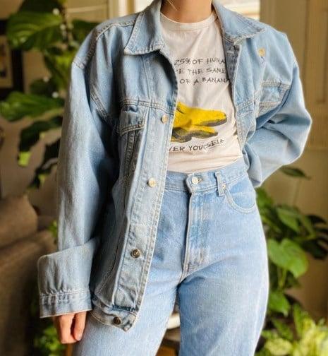 Модні джинсові куртки 2021 / Instagram