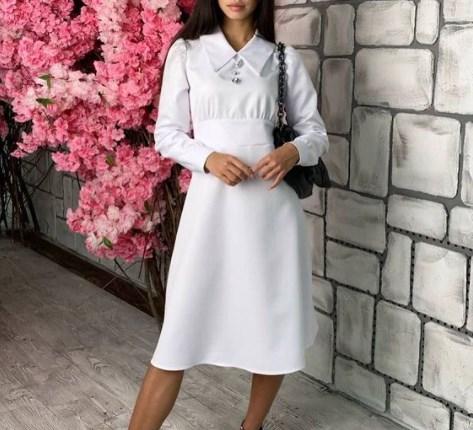 Модные платья миди 2021 весна-лето