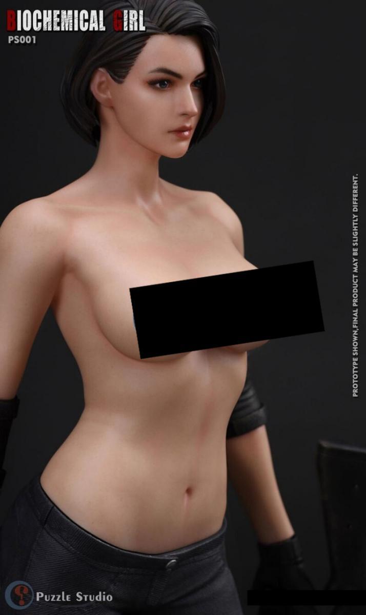 Компания Puzzle Studio анонсировали новую серию фигурок Джилл Валентайн