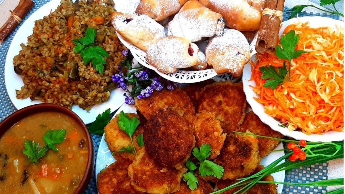 Постное меню - вкусные рецепты / pinterest.com