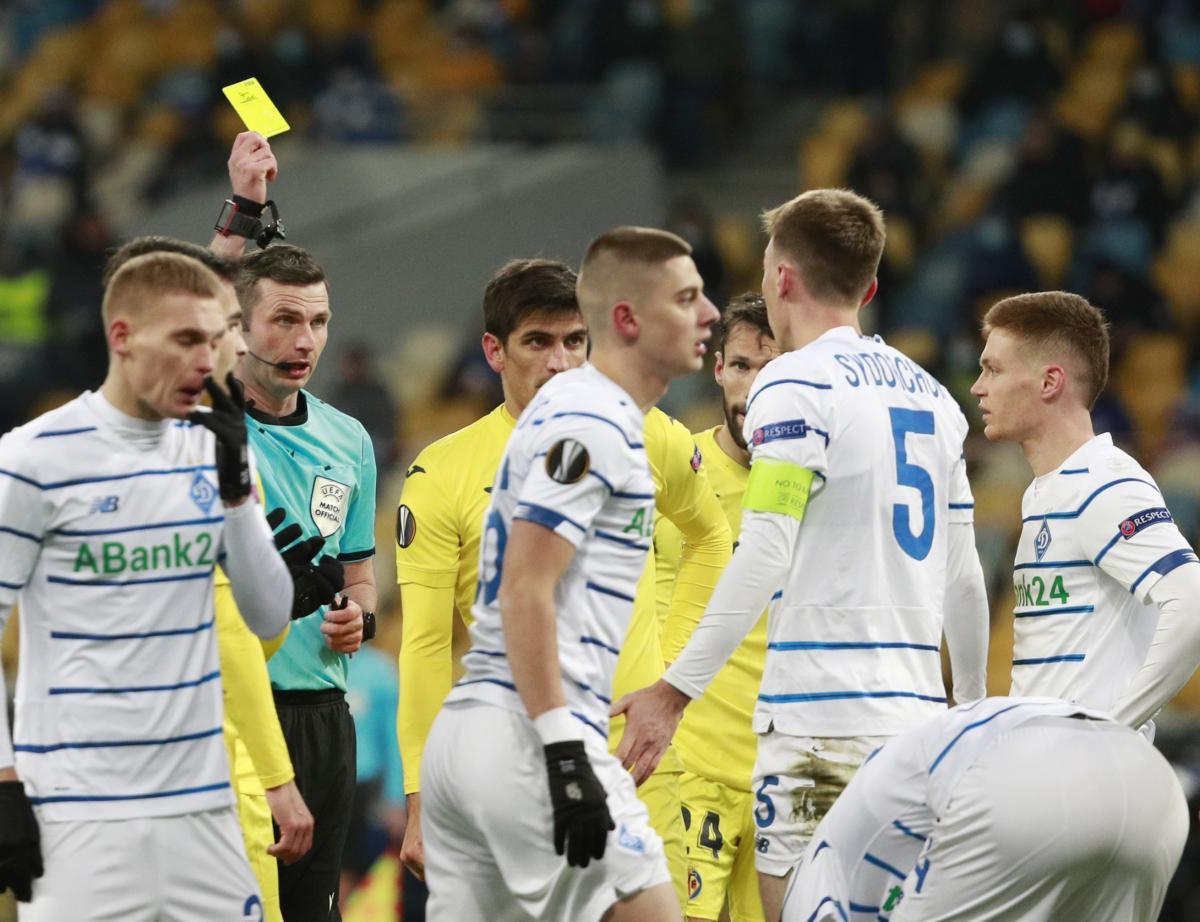 Лига Європи Динамо - Вільярреал
