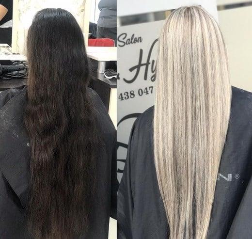 После осветления волосы должны отрасти полностью / Instagram
