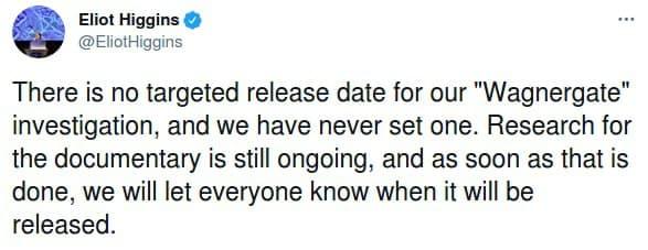 15 березня 2021 року сенсація від Bellingcat не відбудеться