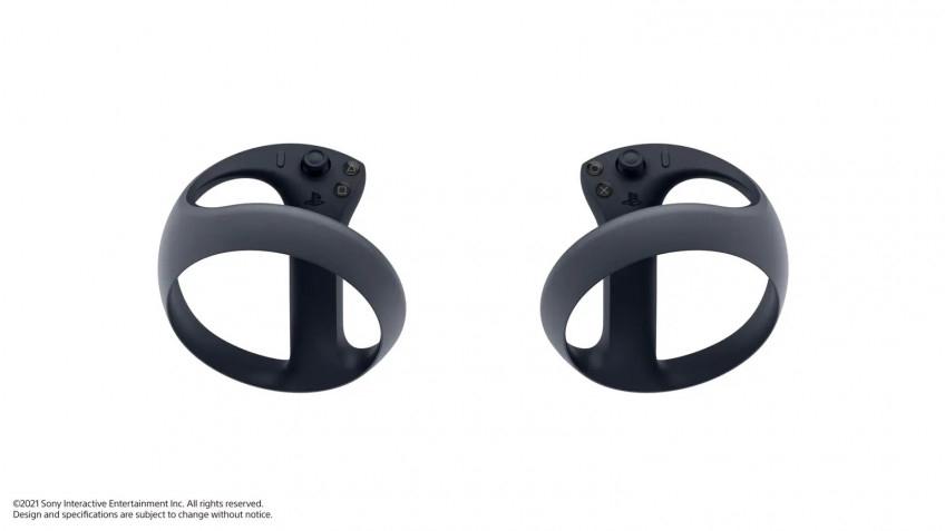 Sony показала контроллеры для PlayStation VR 2